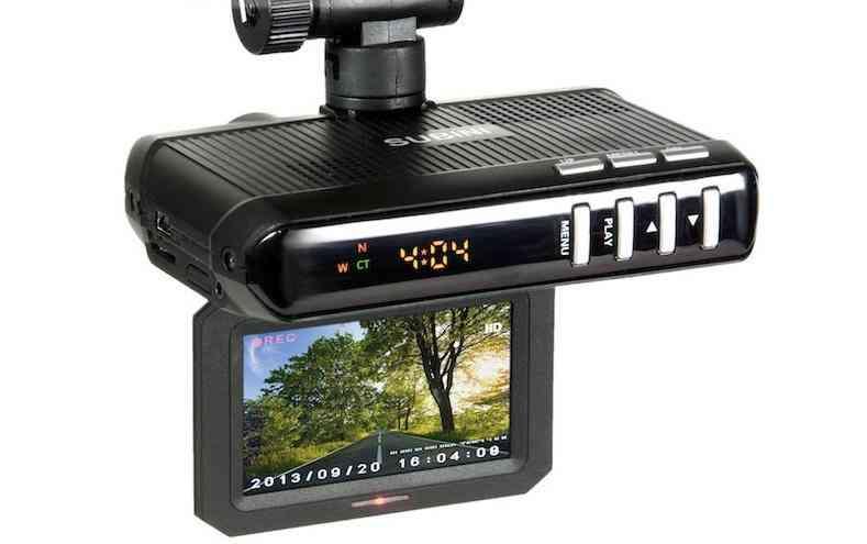 Видеорегистратор с антирадаром