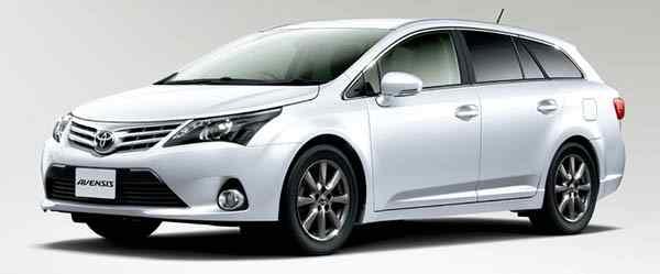 Новая Toyota Avensis