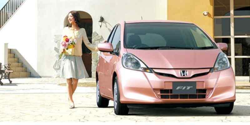 pinkcar-honda