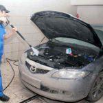 Как помыть двигатель