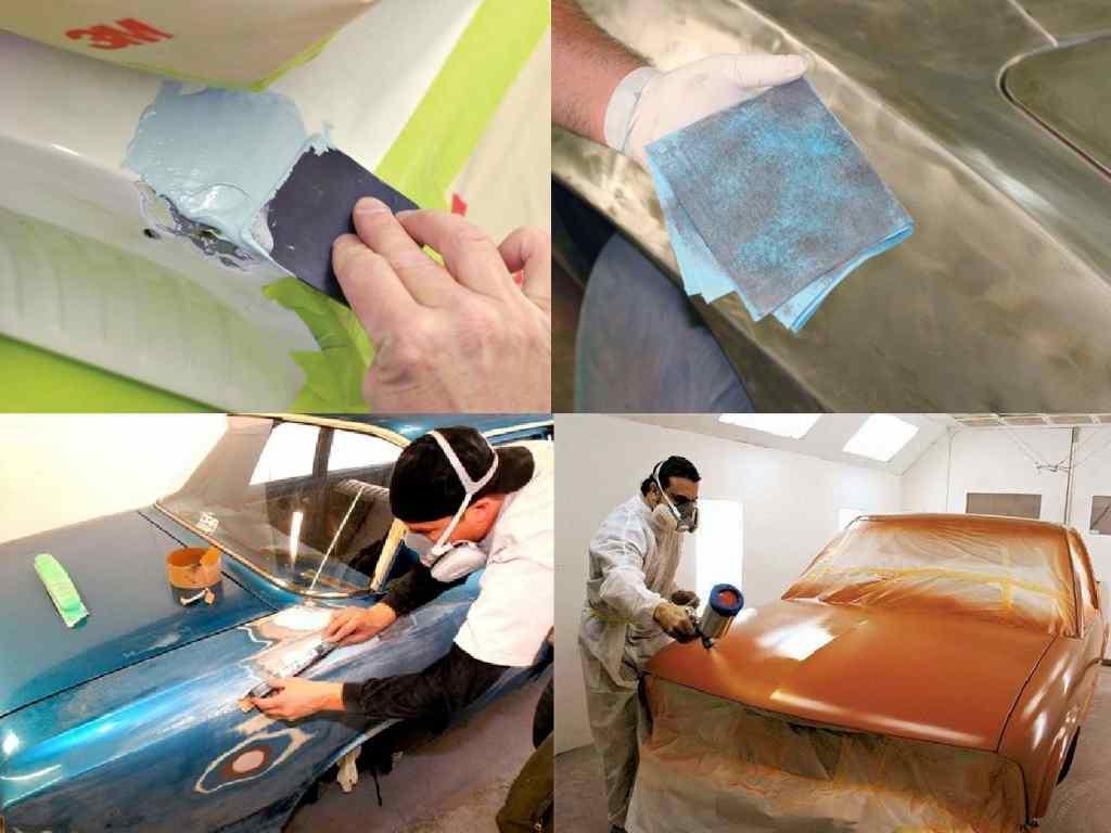 Полировка акриловой краски на авто своими руками 3
